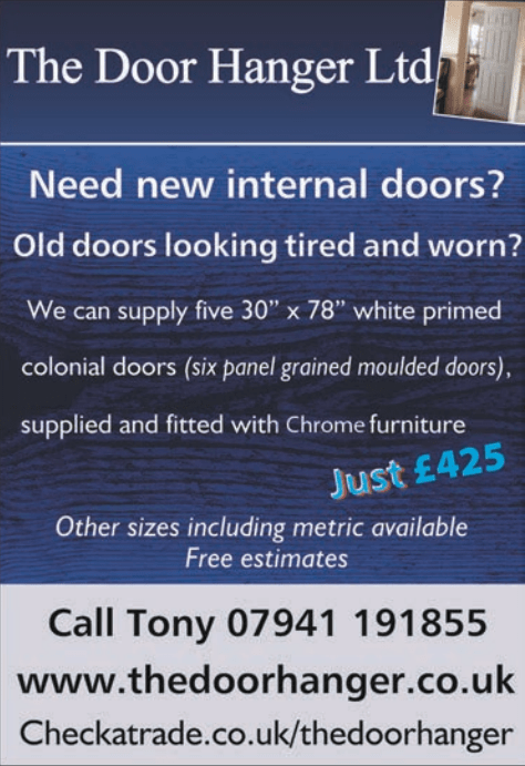 Internal Doors Replacement Offer