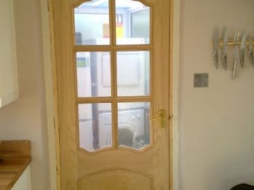 Glass Pane Doors, The Door Hanger